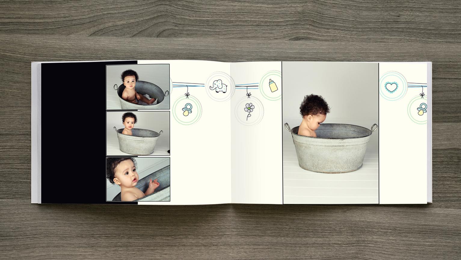 baby album design