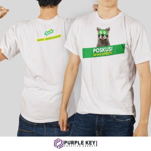 Shirt branding – Sprite