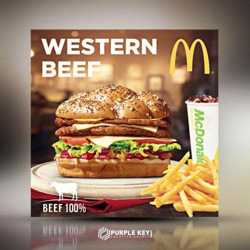 McDonald's – Western Beef
